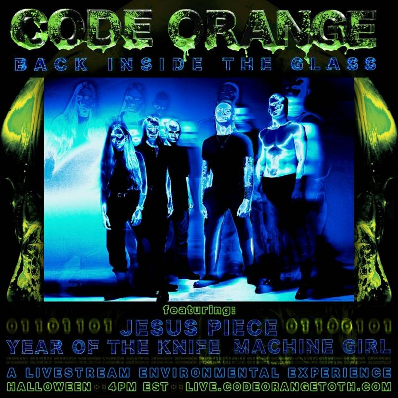 image002 Code Orange Announce Back Inside the Glass Halloween Livestream Show