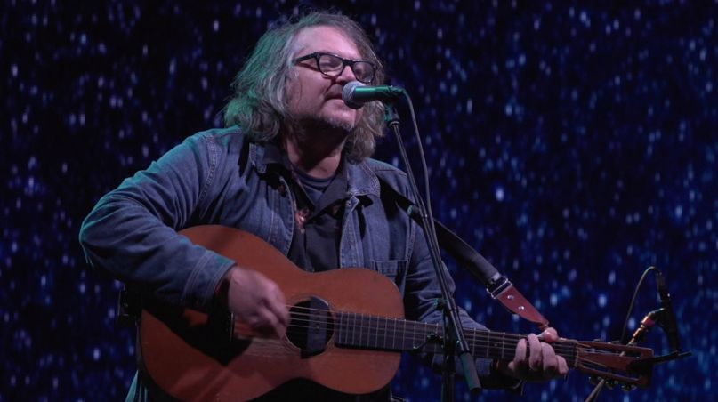 jeff tweedy late show stephen colbert guess again performance watch