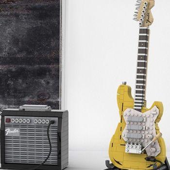 LEGO Fender Strat