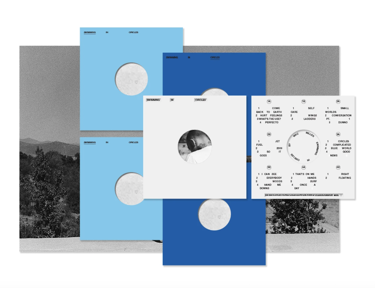 mac miller swimming in circles vinyl box set collection art