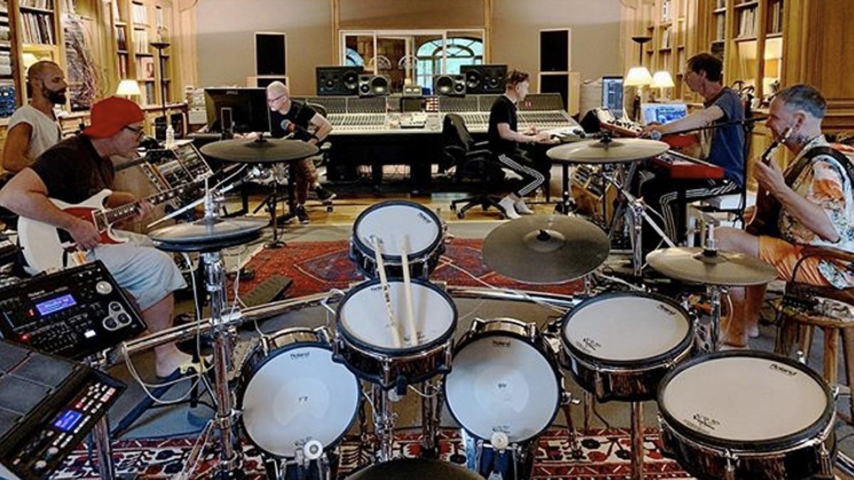Resultado de imagen de rammstein at studio