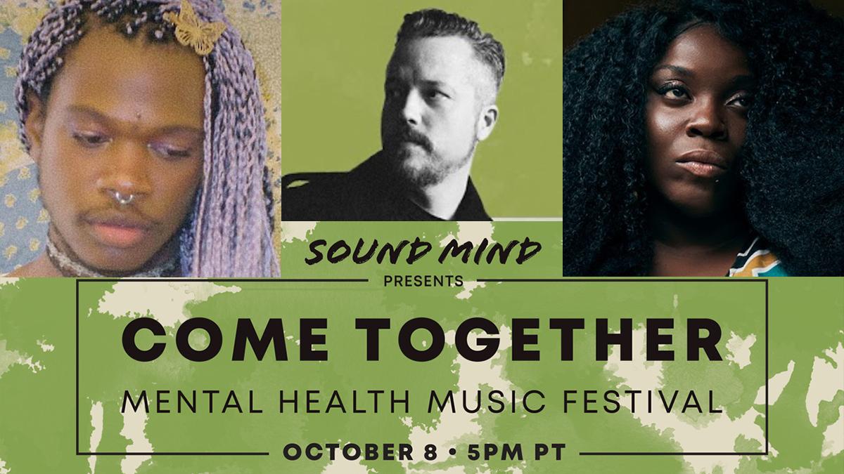 Jason Isbell, Yola, Shamir playing Come Together: Mental Health Music Festival