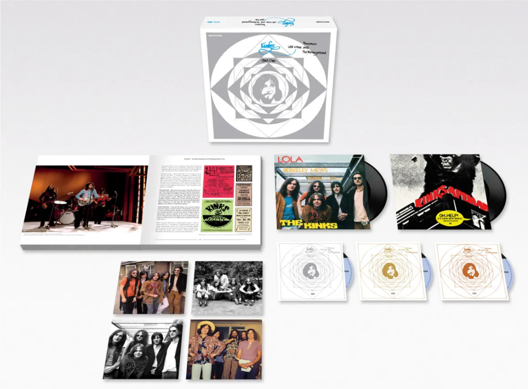the kinks lola 50th anniversary box set The Kinks Announce 50th Anniversary Reissue of Lola Versus Powerman and The Moneygoround, Part One