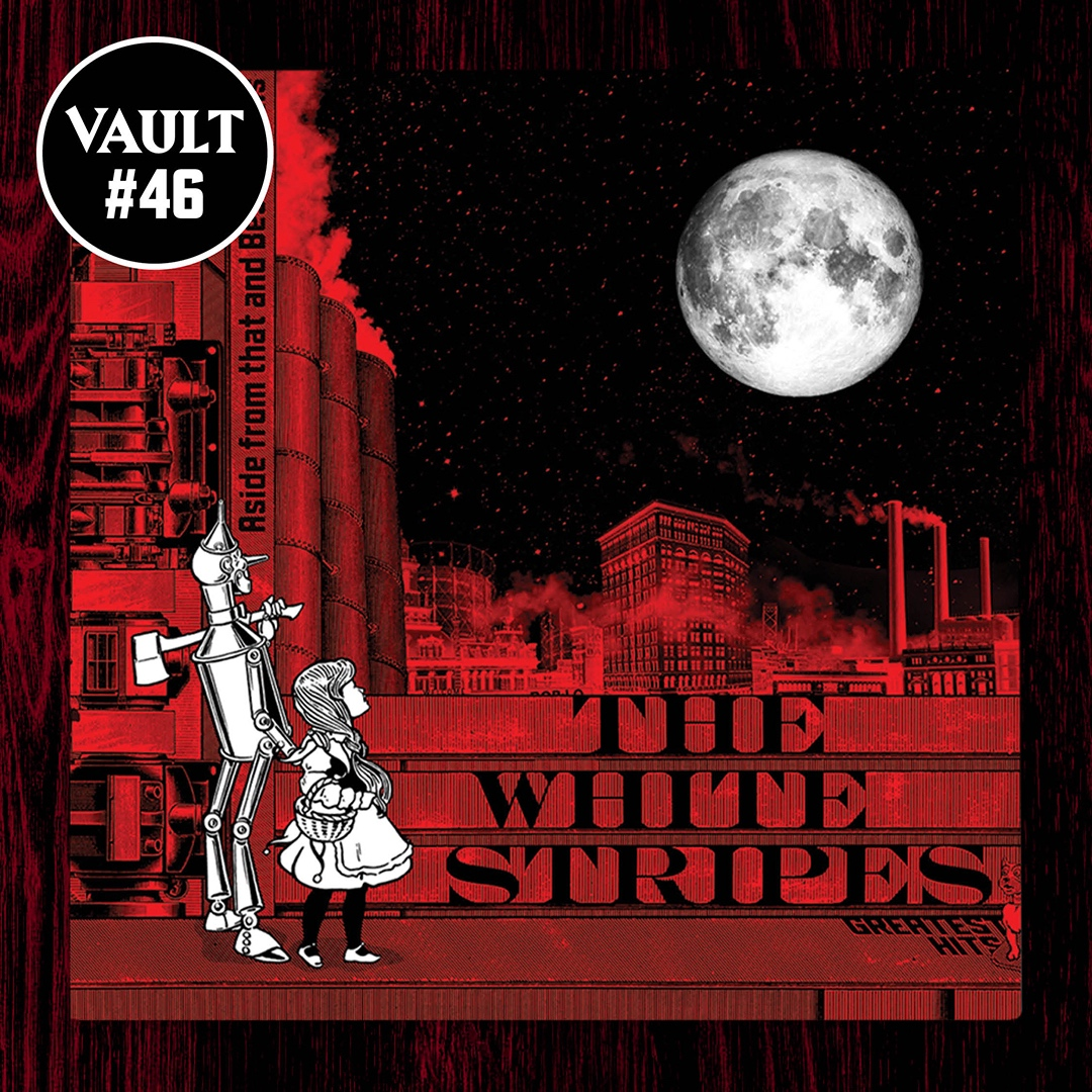 the white stripes greatest hits album cover artwork vault exclusive