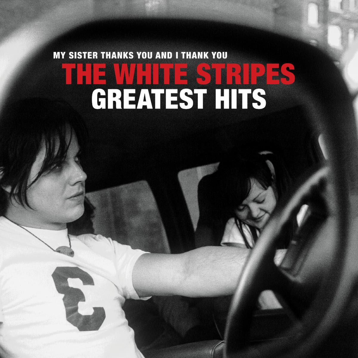 the white stripes greatest hits album cover artwork