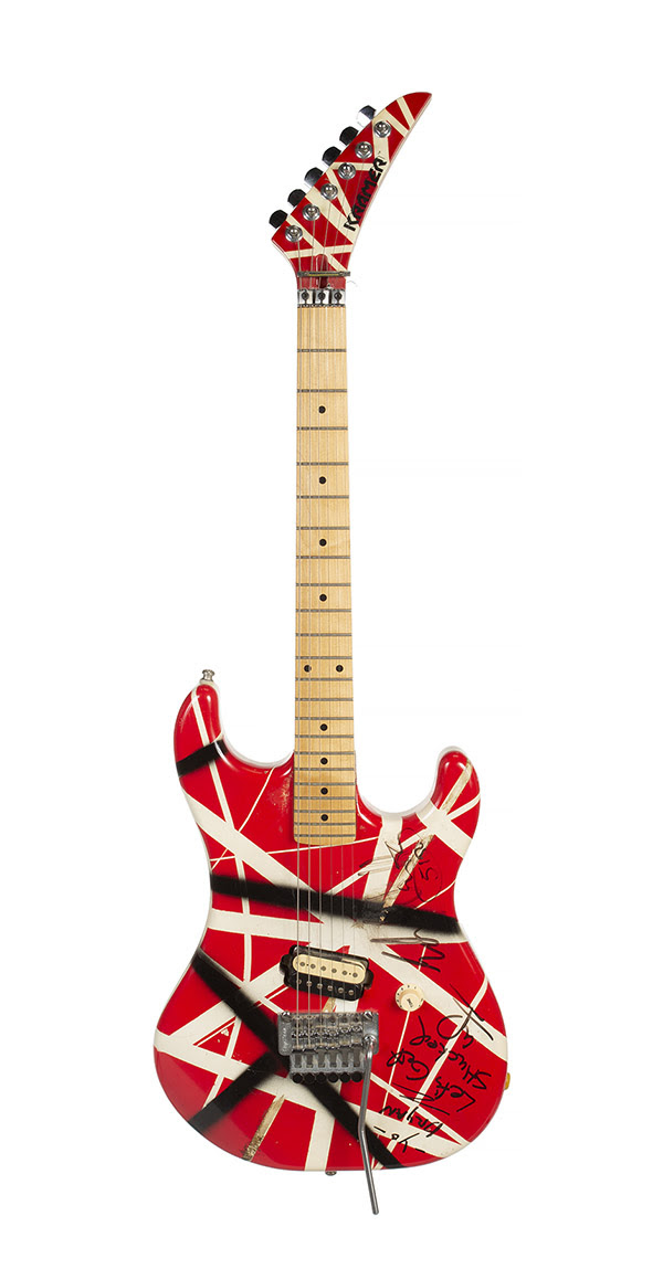 unnamed 12 Two of Eddie Van Halens Frankenstrat Style Guitars to Be Auctioned
