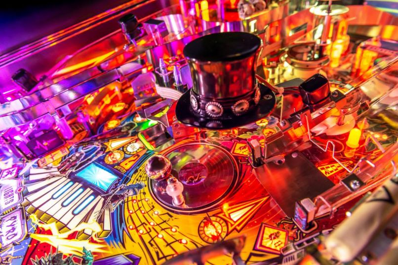 unnamed 4 Guns N Roses Unveil Not in This Lifetime Pinball Machines