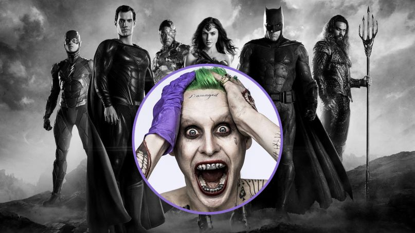 zack snyder justice league jared leto joker