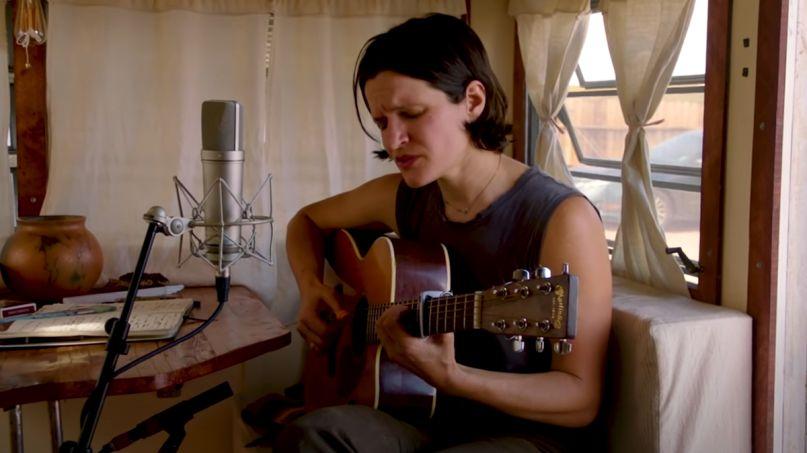 Adrianne Lenker Tiny Desk (Home) Concert for NPR
