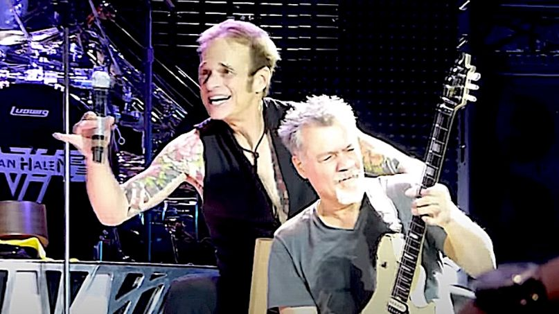 David Lee Roth dedicates song to Eddie Van Halen
