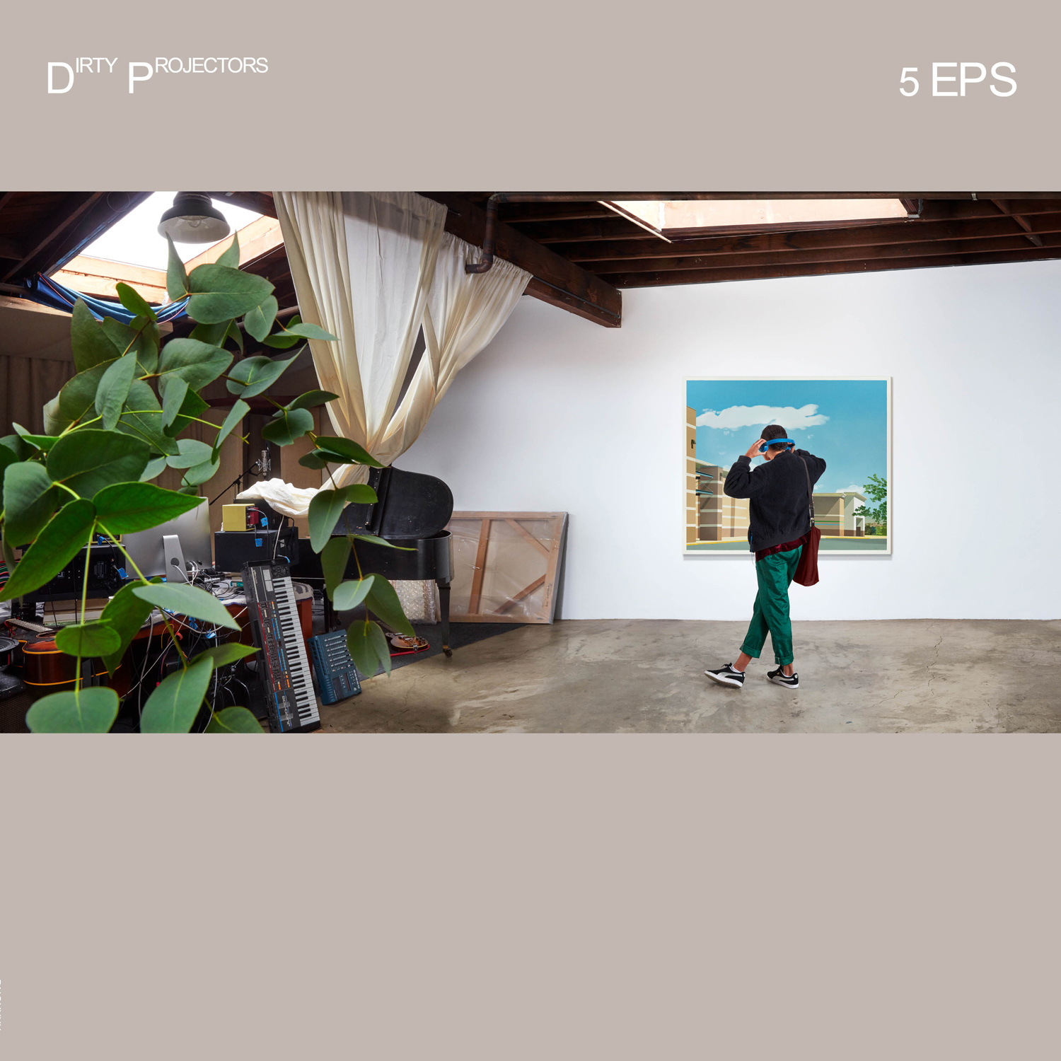 Dirty Projectors 5EPs album cover artwork stream track by track