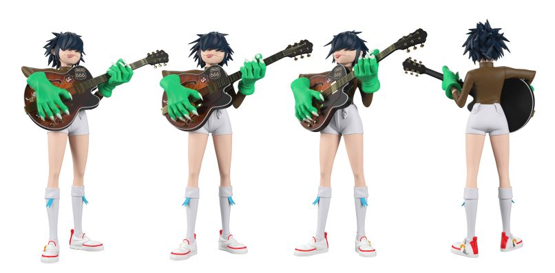 GorillazToys 03 copy Gorillaz Unveil New Line of Luxe Vinyl Toys