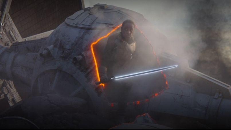 Mandalorian Darksaber Gideon featured Who Is Bo Katan? The Mandalorian, Explained