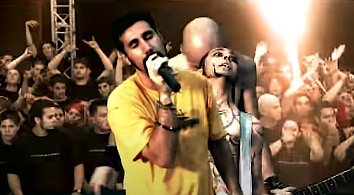 "System of a Down's ""Chop Suey!"" video passes a billion views on YouTube"