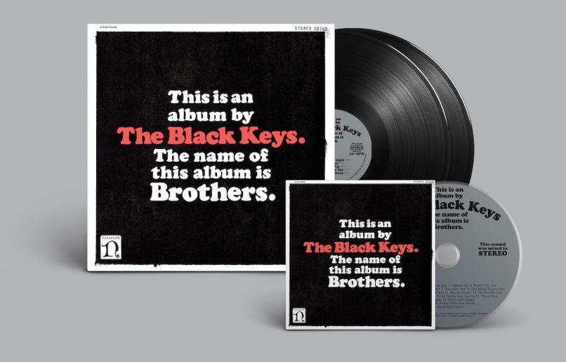 black keys brothers 10th anniversary deluxe reissue vinyl cd