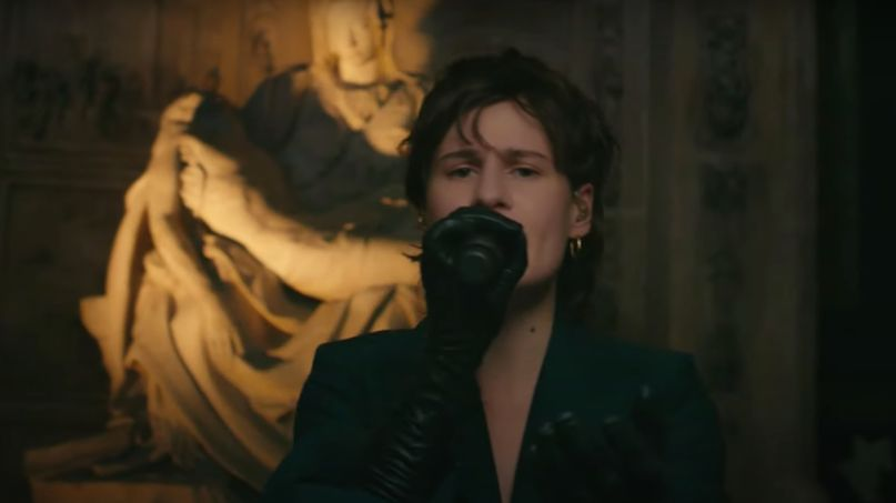 christine and the queens late late show james corden people i've been sad