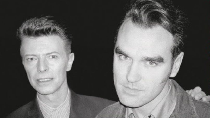david bowie morrissey t rex cosmic dancer cover live