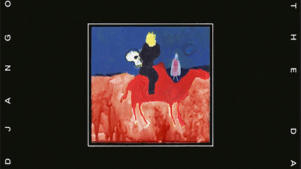 django django glowing in the dark album cover artwork