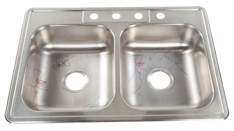 Ronnie James Dio Benefit Auction Tool Sink