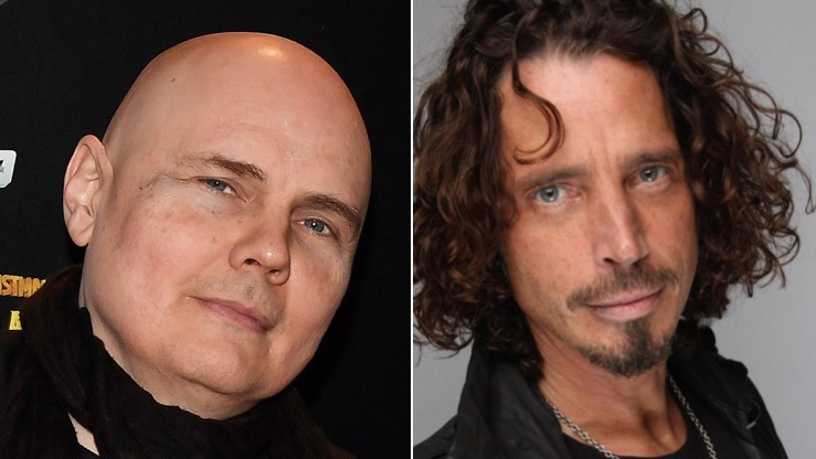 Billy Corgan and Chris Cornell