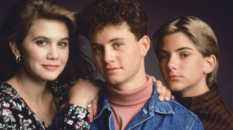 Kirk Cameron Growing Pains anti-mask siblings Jeremy Miller actors Tracey Gold