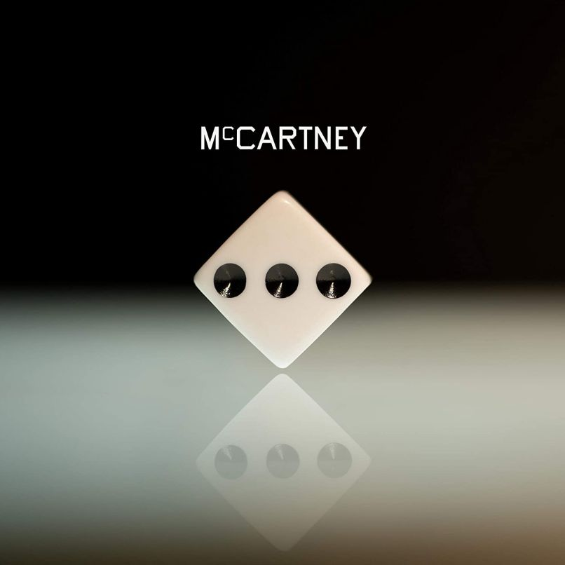 Paul McCartney III solo album 3 album artwork cover art