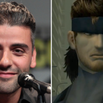 Oscar Isaac Metal Gear Solid Snake movie cast casting news sony