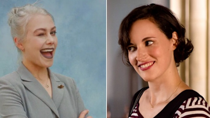 Phoebe Bridges and Phoebe Waller Bridge