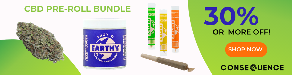 Pre Roll Bundle 970x250 3 Discounted Merch and CBD Gift Bundles Now Available at Consequence Shop for the Holidays