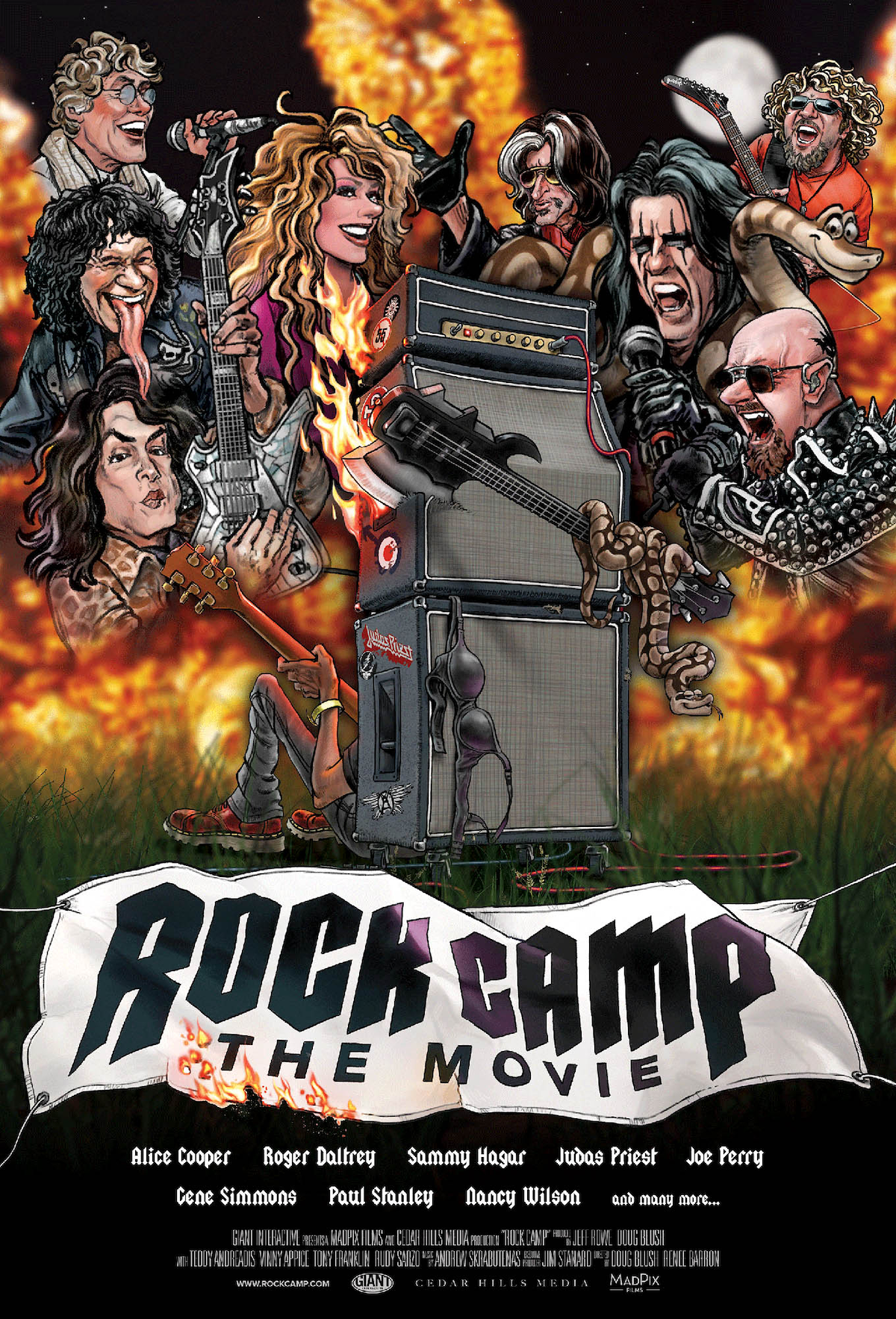 Rock Camp movie poster