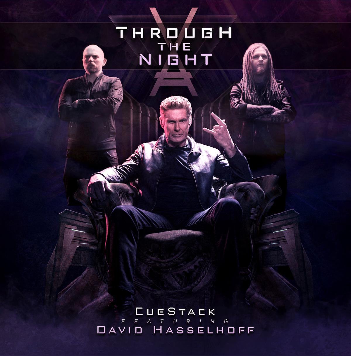 Hassehoff CueStack Through the Night artwork