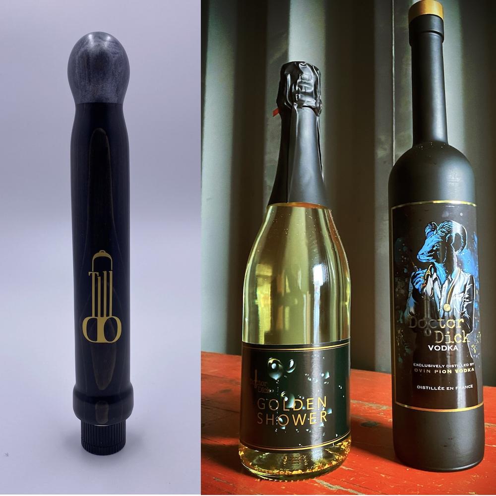 Tilldo Golden Show Wine Doctor Dick Водка