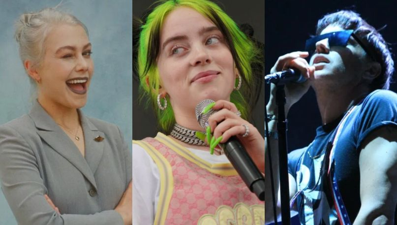 billie-eilish-picks-favorite-songs-2020-strokes-phoebe
