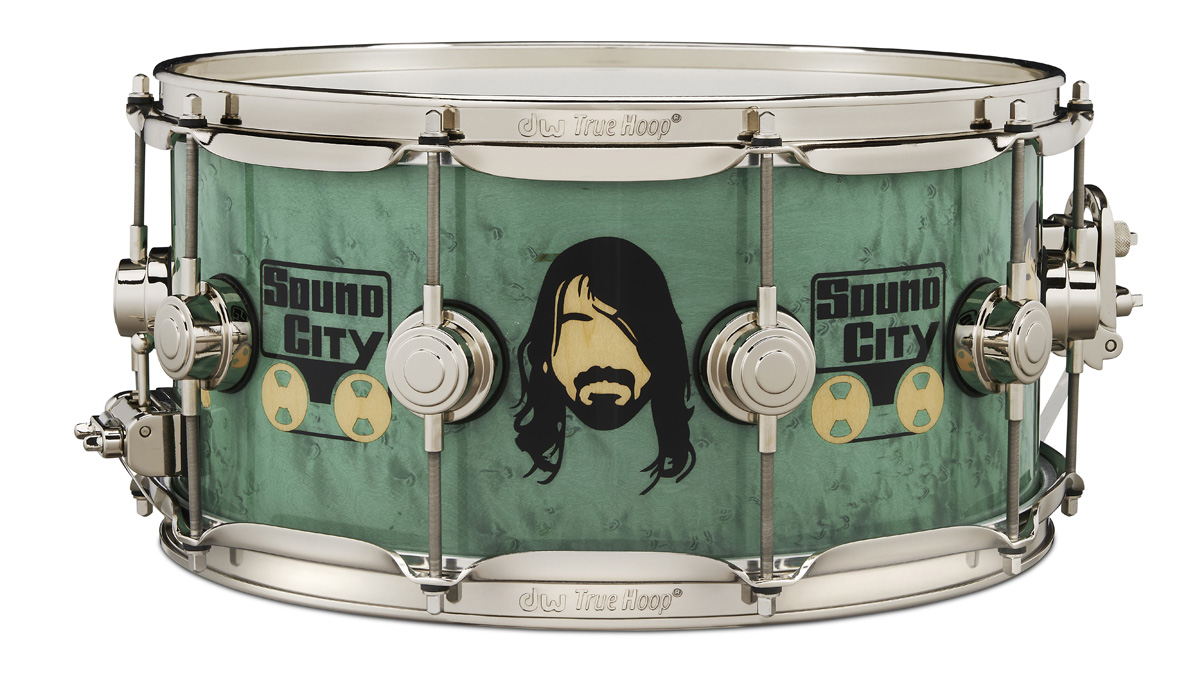 DW unveils new Dave Grohl ICON snare drum