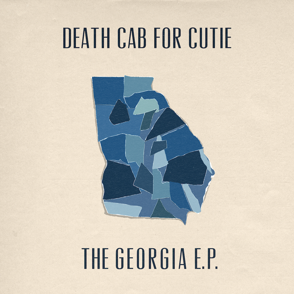 death cab georgia ep covers artwork Death Cab for Cutie Cover R.E.M., Neutral Milk Hotel, and TLC on New EP: Stream