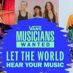 vans musicians wanted livestream concert