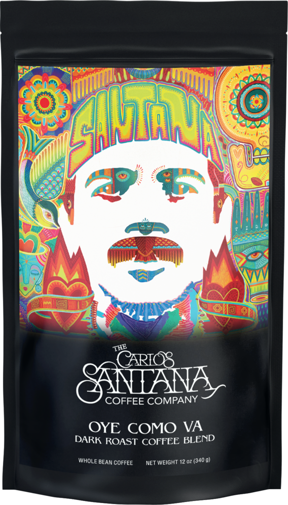 oye como va dark roast blend carlos santana coffee 1024x1024 Man, Its a Hot One: Carlos Santana Launches His Own Coffee Company