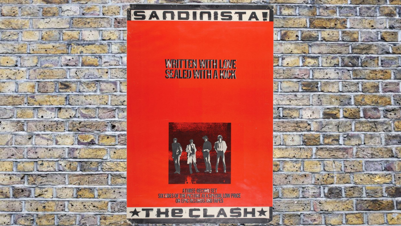 sandinista cover An Oral History of The Clashs The Magnificent Seven