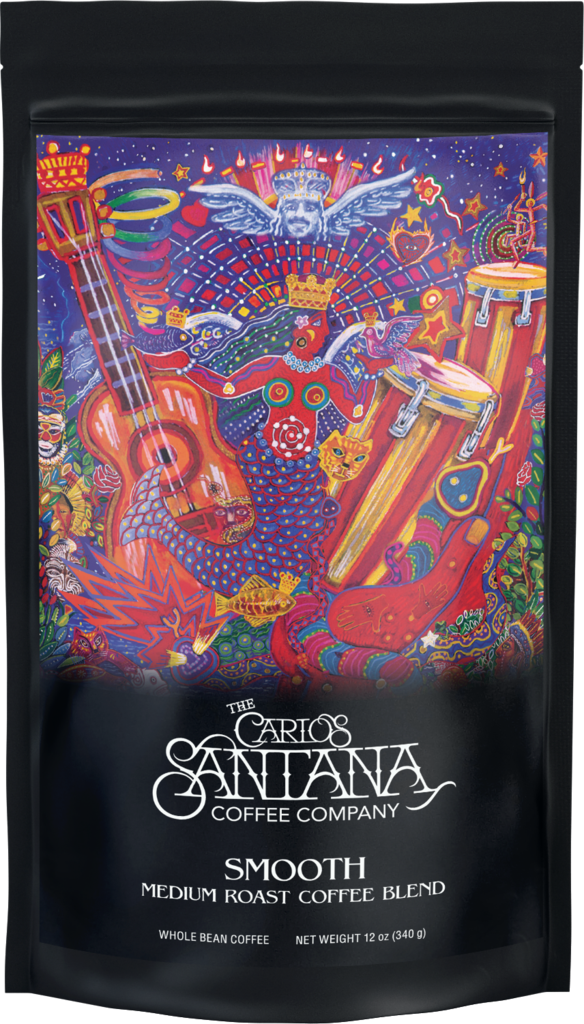 smooth santa coffee Man, Its a Hot One: Carlos Santana Launches His Own Coffee Company