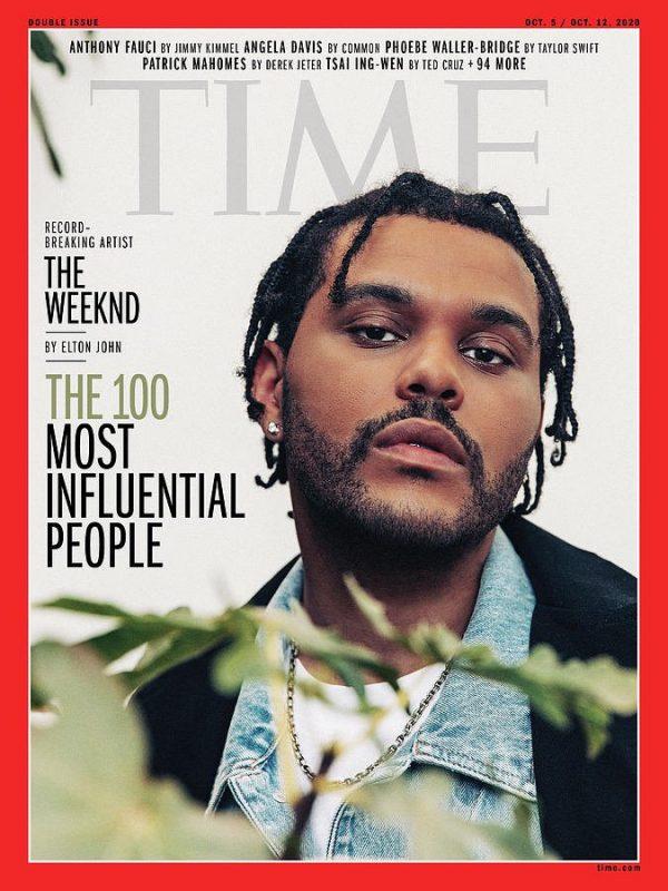 time 100 The Weeknd 1 обложка 600x800 1 10 Times The Weeknd поразили наши умы в 2020 году