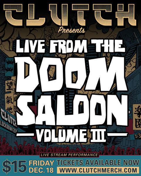 Clutch Doom Saloon III