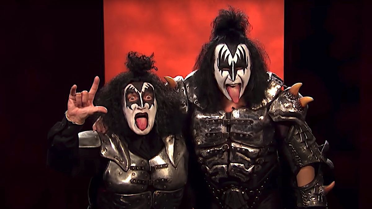 "KISS' Gene Simmons recalls Alex Trebek putting on the Demon makeup: ""He was a funny guy"""