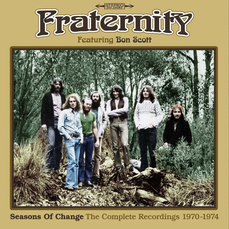 Fraternity Box Set of Bon Scotts Pre AC/DC Band Fraternity Released with Previously Unheard Tracks