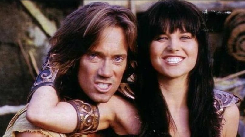 Xena Hercules Capitol riots Twitter Lucy Lawless Kevin Sorbo Princess Warrior