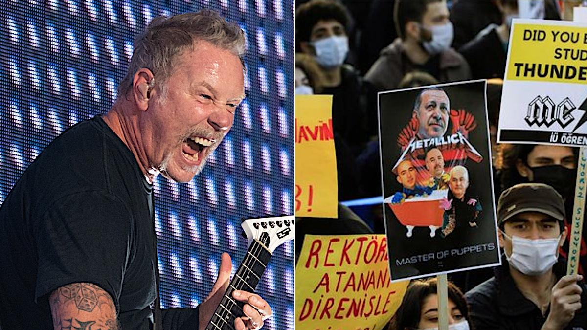 Музыка Metallica стала саундтреком к студенческим протестам в Стамбуле