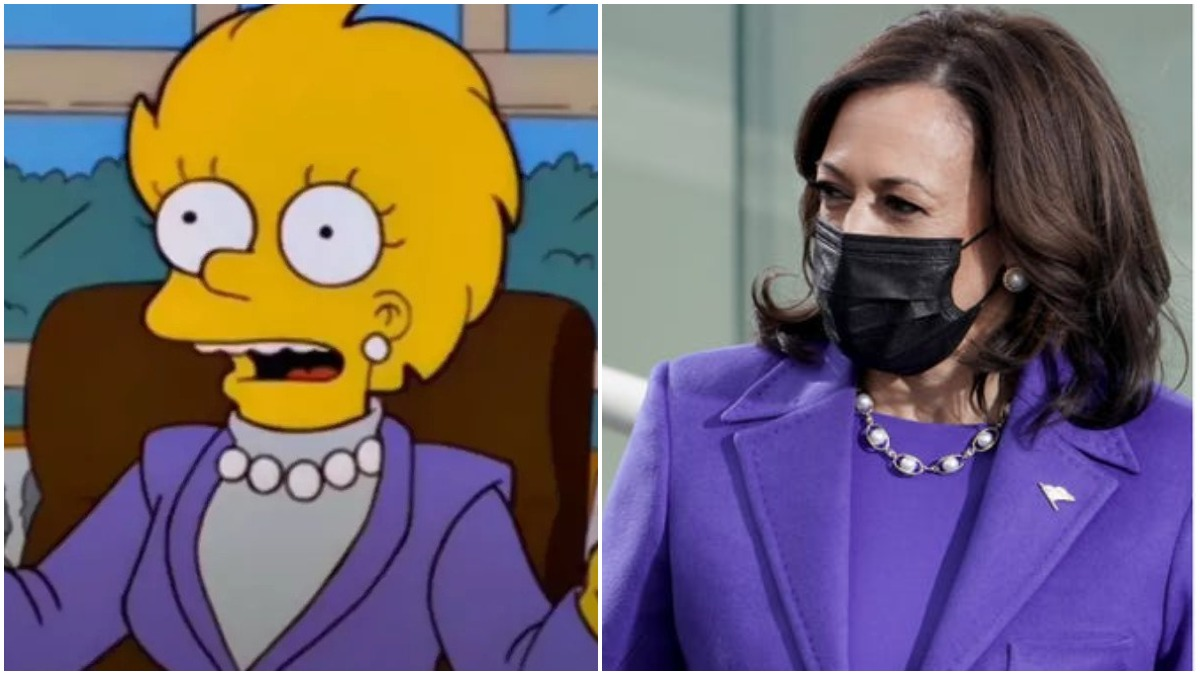 The Simpsons Predicted Kamala Harris' Inauguration Outfit 21 Years Ago