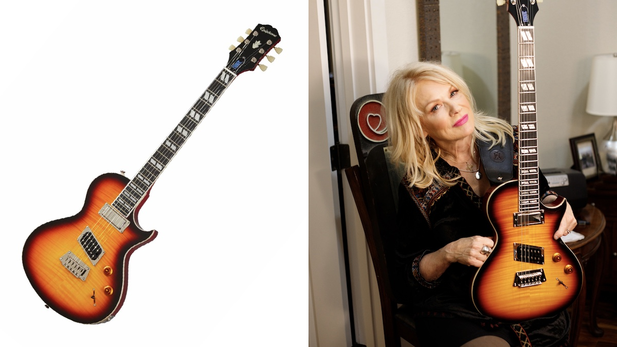 "Heart's Nancy Wilson and Epiphone announce ""Fanatic"" electric guitar"
