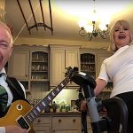 Robert Fripp and Toyah Metallica Enter Sandman
