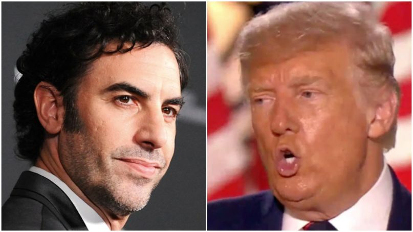 "Sacha Baron Cohen Calls Trump's Twitter Ban ""Most Important Moment In The History of Social Media"""