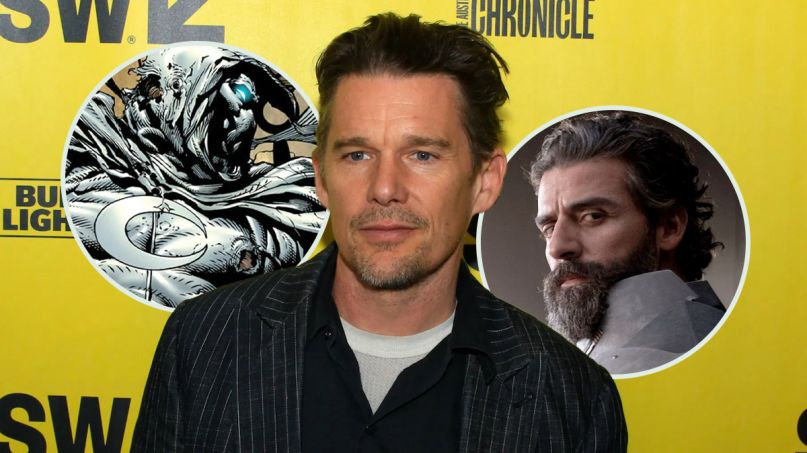 ethan hawke moon knight villain disney plus marvel cinematic universe